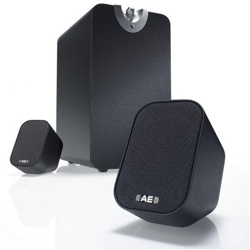 Acoustic Energy Aego M Black 2.1 Speakers